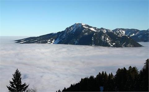 Ski Area with interesting Plot, Deutschland, Germany