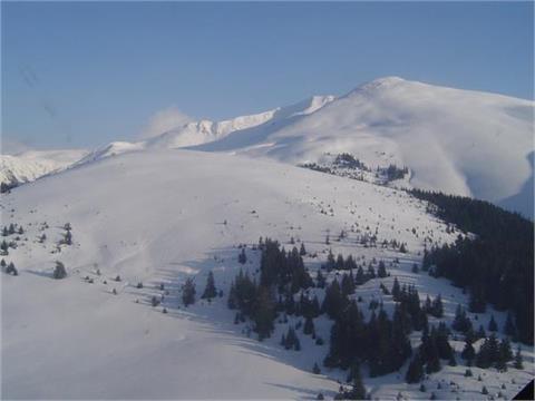 Nedeia Ski Resort, Karpaten, Rumänien